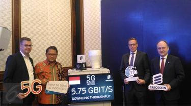Ericsson Gelar Demo 5G Perdana