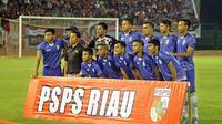 PSPS Pekanbaru optimistis menyambut persaingan di Grup 1 Liga 2 2017. (Bola.com/Ronald Seger)