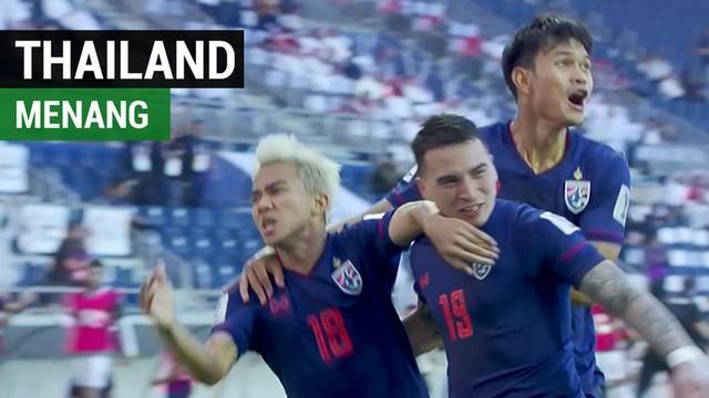 Berita video highlights Piala Asia 2019 antara Bahrain melawan Thailand yang berakhir dengan skor 0-1 di Maktoum Bin Rashid al Maktoum Stadium, Dubai, Uni Emirat Arab, Kamis (10/1/2019).