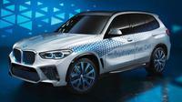 Mobil konsep BMW X5 versi hidrogen. (BMW)