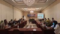 Pertemuan Perencanaan Kebutuhan Pupuk Subsidi 2021, di Kota Bogor, Senin (9/11/2020).