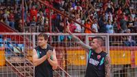 Striker asing PSM Makassar, Eero Markkanen. (Bola.com/Abdi Satria)