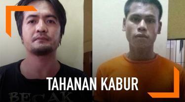 Dua orang tahanan Polresta Denpasar Bali kabur dari tahanan Minggu (7/4) dini hari. Aksi kabur itu bisa dilakukan setelah mereka berhasil merusak gembok sel tahanan.