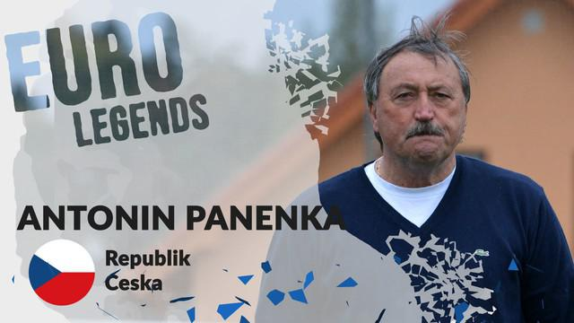 Berita motion grafis profil legenda Antonin Panenka, pelopor tendangan penalti unik yang mematikan.