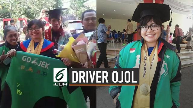 Viral di media sosial kisah inspiratif driver ojol lulus cum laude dari Undip.