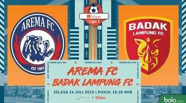 Arema FC Vs Badak Lampung FC