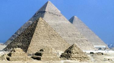 Ilustrasi piramida di Mesir. (BBC)