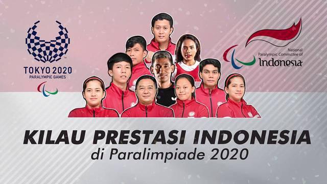 Atlet paralimpik Indonesia berhasil meraih capaian membanggakan di ajang Paralympic Games Tokyo 2020.