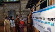 PT PLN (Persero) menyalurkan bantuan senilai Rp 1,25 miliar untuk menyambungkan listrik gratis ke 1.373 keluarga di NTT. (Dok PLN)