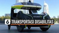 Transportasi online semi-otonom khusus pengguna kursi roda meluncur untuk pertama kalinya di dunia. Transportasi bernama WheeM-i ini dirancang menggunakan tenaga listrik untuk mempermudah penggunanya.