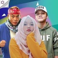Ada momen haru di antara meriah perayaan ulang tahun putri Sule. (Foto: Adrian Putra/Nurwahyunan/Bintang.com Instagram/putridelinaa Desain: Nurman Abdul Hakim/Bintang.com)