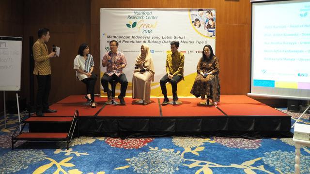 """NRC Grant 2018 mengusung tema penelitian yang diusung """"Membangun Indonesia yang Lebih Sehat melalui Penelitian di Bidang Diabetes Melitus Tipe 2""""."""