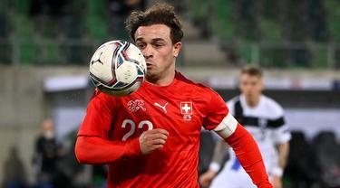 Foto Piala Eropa: 5 Pemain Kunci Timnas Swiss Jelang Laga Kontra Wales di Grup A Euro 2020