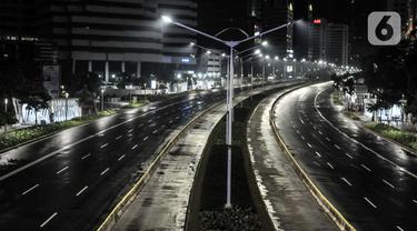 FOTO: Sunyi Ibu Kota di Malam Tahun Baru