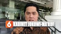 Erick Thohir berharap Presiden Jokowi mengutamakan orang yang telah berjuang bersamanya saat pilpres 2019 lalu dalam memilih jajaran menteri kabinet mendatang.