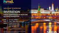 Undangan HMD Global untuk acara pengumuman smartphone Nokia terbaru (Foto: screenshot via GSM Arena)