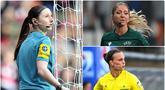 Wasit perempuan bukan menjadi hal aneh dalam dunia sepak bola saat ini. Profesionalitas, kedisiplinan serta fisik yang prima membuat mereka menjadi nuansa berbeda dalam pertandingan. Berikut pesona 8 wasit cantik yang bikin gagal fokus. (kolase foto AFP)