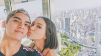 Al Ghazali dan Alyssa Daguise (Instagram/@alghazali7)