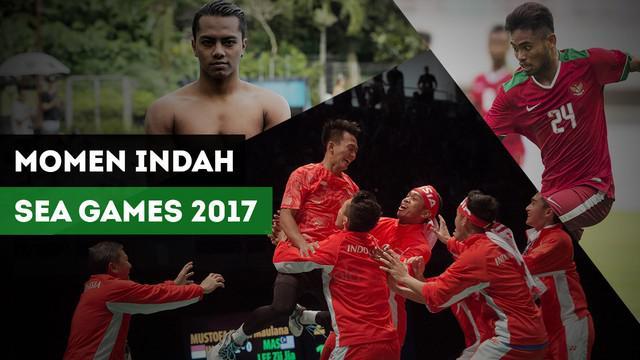 Berita video momen-momen indah yang diciptakan para atlet Indonesia di SEA Games 2017.
