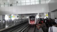 Ilustrasi LRT (Foto:Liputan6.com/Bawono Y)