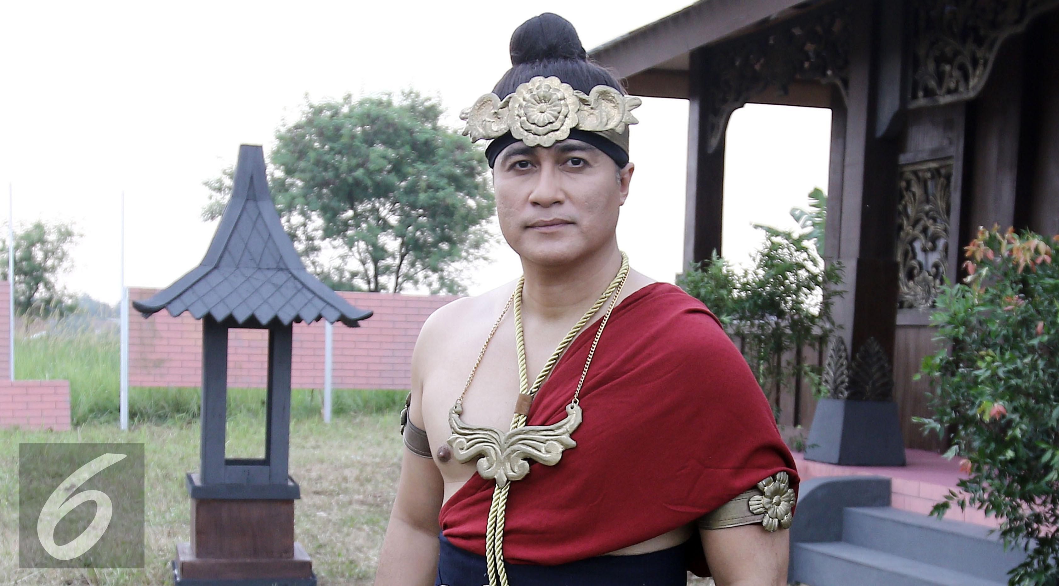Adjie Pangestu dalam Saur Sepuh The Series. (Herman Zakharia/Liputan6.com)