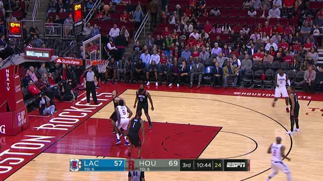 Berita video game recap NBA 2017-2018 antara LA Clippers melawan Houston Rockets dengan skor 128-118.