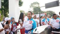 Menteri BUMN Rini Soemarno di acara LinkAja. Dok: Humas Kementerian BUMN