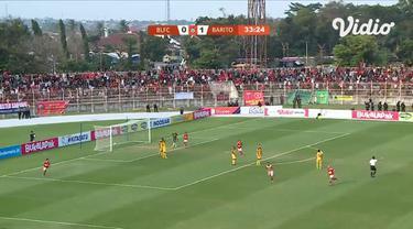 Laga lanjutan Shopee Liga 1,  Badak Lampung VS Barito berakhir imbang 3-3 #shopeeliga1 #badak lampung #barito putera