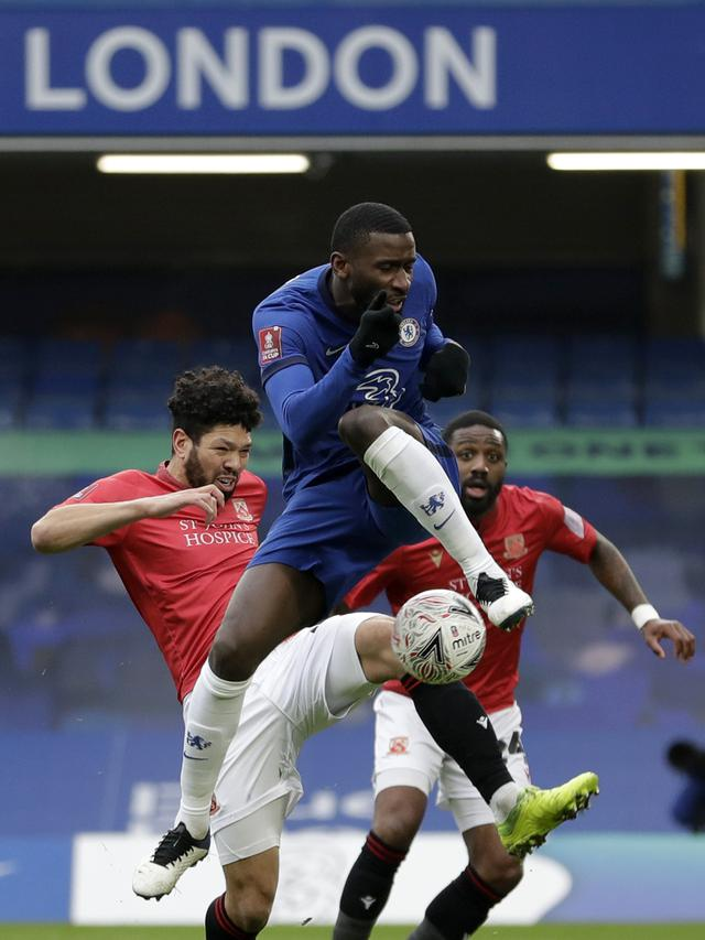 Chelsea vs Tim Divisi Empat Morecambe