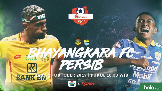Shopee Liga 1 - Bhayangkara FC Vs Persib Bandung - Head to Head Pemain (Bola.com/Adreanus Titus)