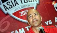 Ivan Gazidis petinggi Arsenal ikut mendampingi Tur Pramusim Arsenal ke Jakarta (Liputan6.com/Helmi Fithriansyah)
