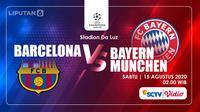 Barcelona vs Bayern Munchen (Liputan6.com/Abdillah)