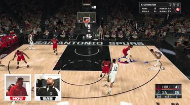 Berita Video Sergio Aguero Ditantang Thibaut Courtois Main Gim NBA2K20, Siapa Lebih Jago ?