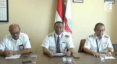 Ketua Umum Ikatan Pilot Indonesia mengklarifikasi terkait adanya video yang beredar terkait dukungan pilot kepada salah satu capres.