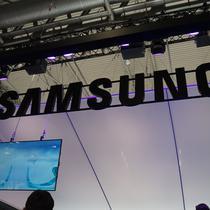 Booth Samsung di gelaran Mobile World Congress 2018. (Liputan6.com/ Agustin Setyo W)