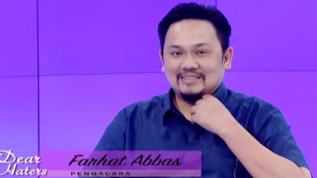 Dalam acara Dear Haters, Farhat Abbas mengungkap jika sifat buruknya itu disebabkan pengaruh pasangan hidupnya.