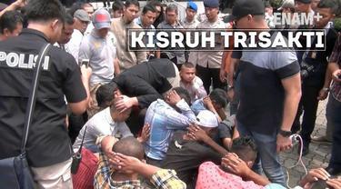 Polres Jakarta Barat merazia sejumlah preman yang amsih bersembunya di kampus Trisakti. Peristiwa ini merupakan buntut kisruh antara kampus dengan Yayasan Trisakti