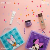 Intip koleksi skincare menggemaskan dengan gambar Mickey dan Minnie Mouse dari Innisfree (Foto: instagram/innisfreephilippine)