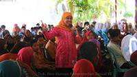 Menteri Sosial Khofifah Indar Parawansa (Humas kemensos)