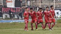 Persija Jakarta meraih kemenangan 1-0 atas All Star Lampung dalam pertandingan amal di Stadion Way Halim, Bandar Lampung, Minggu (13/1/2019). (Istimewa)
