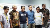 Alumni UI membuat Sekolah Indonesia untuk memulihkan korban gempa di Lombok (Liputan6.com/Komarudin)