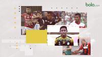 Pemain dengan jumlah passing terbanyak Shopee Liga 1 2019. (Bola.com/Dody Iryawan)