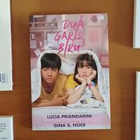 Novel Dua Garis Biru./Copyright Endah