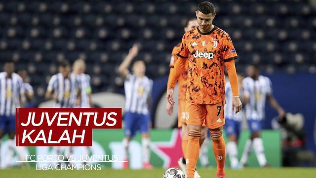 Berita Video Highligts Liga Champions, FC Porto Bungkam Juventus 2-1 (18/2/2021)