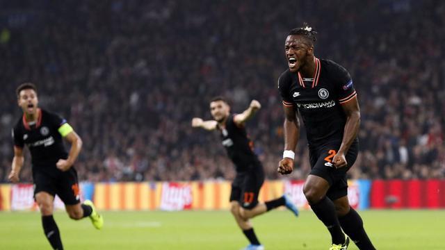 Striker Chelsea, Michy Batshuayi (MAURICE VAN STEEN / ANP / AFP)