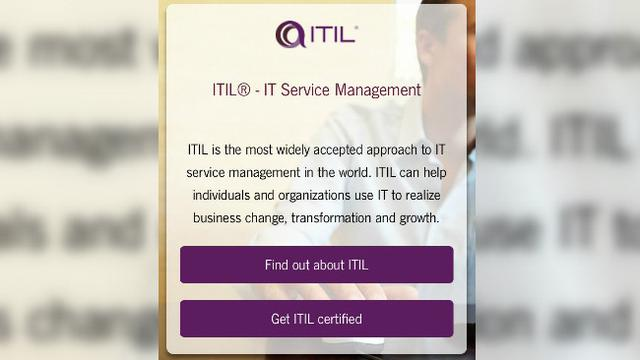 ITIL, IT service management. Sip