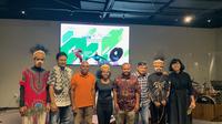 Pembicara Mari Cerita (MaCe) Papua saat membicarakan Cendrawasih, Ekoturisme & Perlindungan Hutan Papua di Kuningan City, Jakarta Selatan pada Rabu (11/9/2019). (dok. liputan6.com/Novi Thedora)