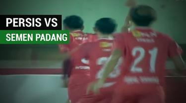Berita video highlights Liga 2 2018, Persis Solo vs Semen Padang, dengan skor 3-0, Senin (23/4/2018). (Sumber: TvOne)
