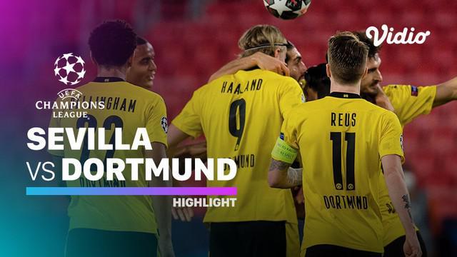 Berita video highlights Liga Champions, Borussia Dortmund kalahkan Sevilla 3-2, Kamis dini hari (18/2/21)