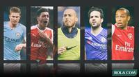 Kolase - Raja Assist di Premier League (Bola.com/Adreanus Titus)